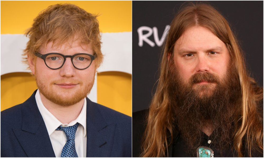 Chris Stapleton Teams With Ed Sheeran and Bruno Mars for 'Blow'