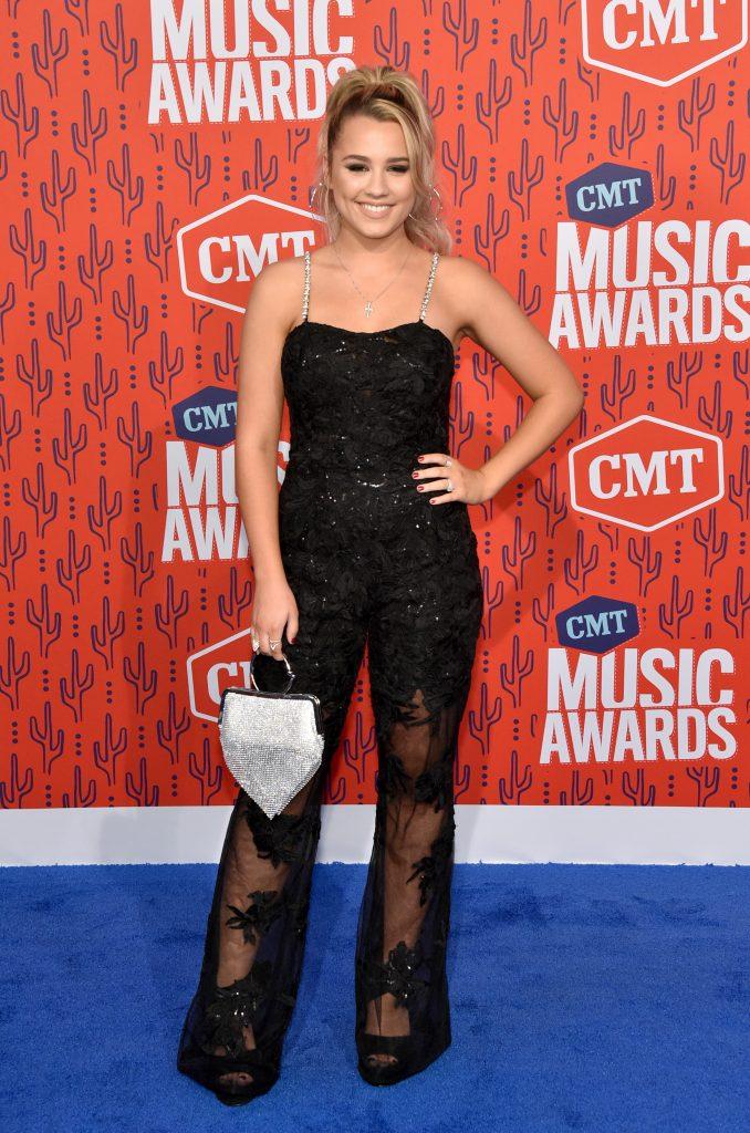 NASHVILLE, TENNESSEE - JUNE 05: Gabby Barrett attends the 2019 CMT Music Awards at Bridgestone Arena on June 05, 2019 in Nashville, Tennessee. (Photo by John Shearer/WireImage,)