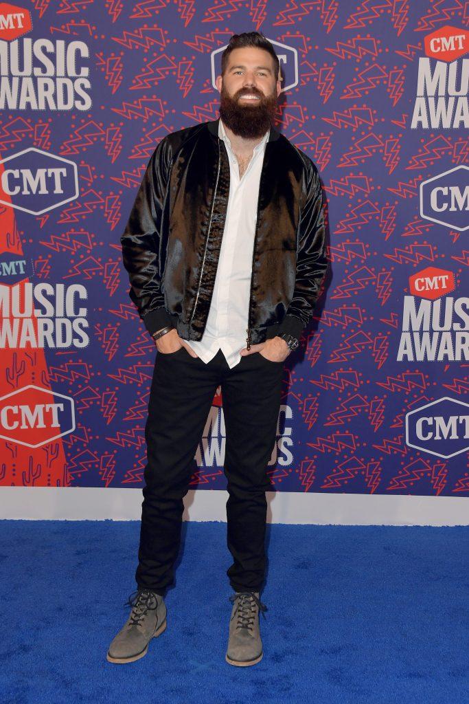 NASHVILLE, TENNESSEE - JUNE 05: Jordan Davis attends the 2019 CMT Music Awards - Arrivals at Bridgestone Arena on June 05, 2019 in Nashville, Tennessee. (Photo by Michael Loccisano/Getty Images)