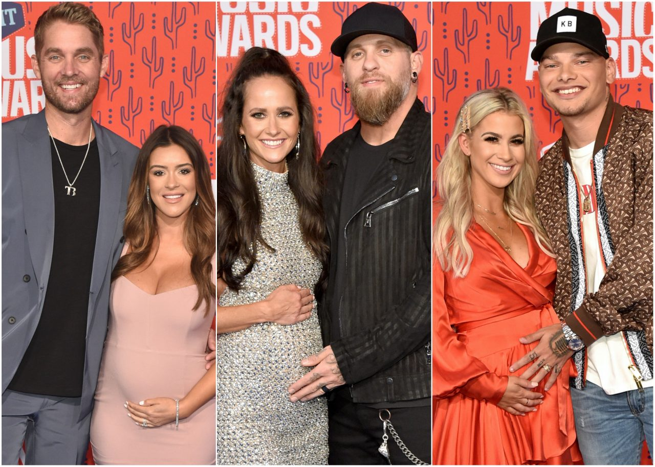 e53e3aa90 Baby Bumps Rock the 2019 CMT Awards Red Carpet Sounds Like Nashville