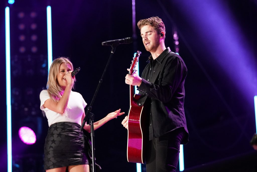 Chainsmokers with Kelsea Ballerini performs at Nissan Stadium on Thursday, June 6 during the 2019 CMA Music Festival in downtown Nashville. Photo courtesy of CMA