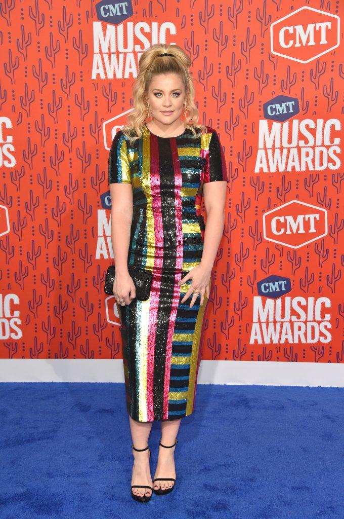 NASHVILLE, TENNESSEE - JUNE 05: Lauren Alaina attends the 2019 CMT Music Awards at Bridgestone Arena on June 05, 2019 in Nashville, Tennessee. (Photo by John Shearer/WireImage,)