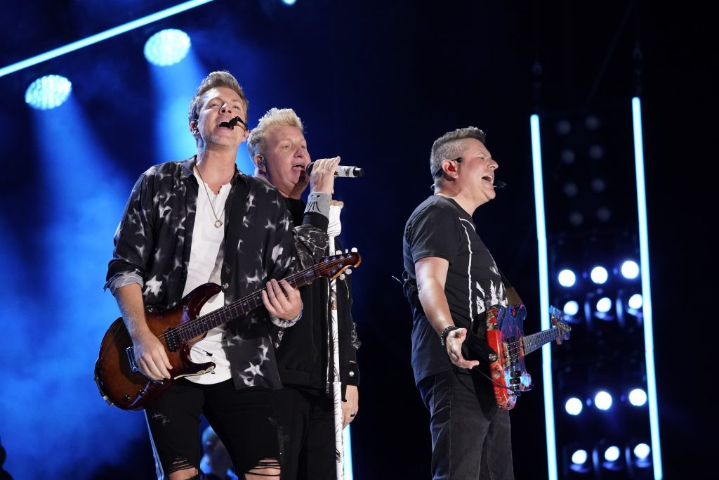 Rascal Flatts performs at Nissan Stadium on Thursday, June 6 during the 2019 CMA Music Festival in downtown Nashville. Photo courtesy of CMA