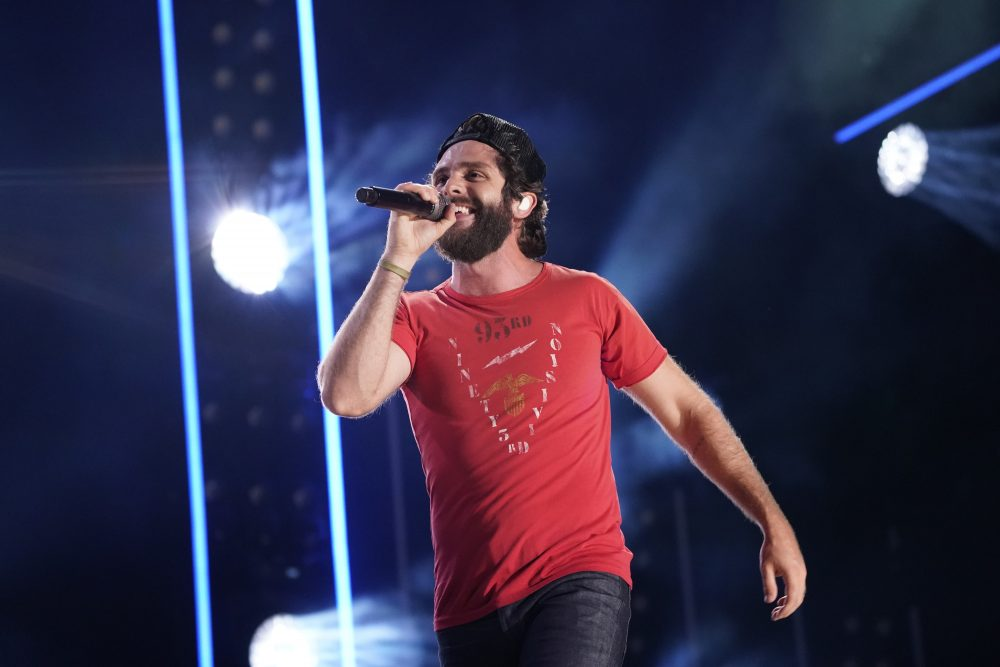 Thomas Rhett Notches 13th No.1 Single, Announces Follow-Up