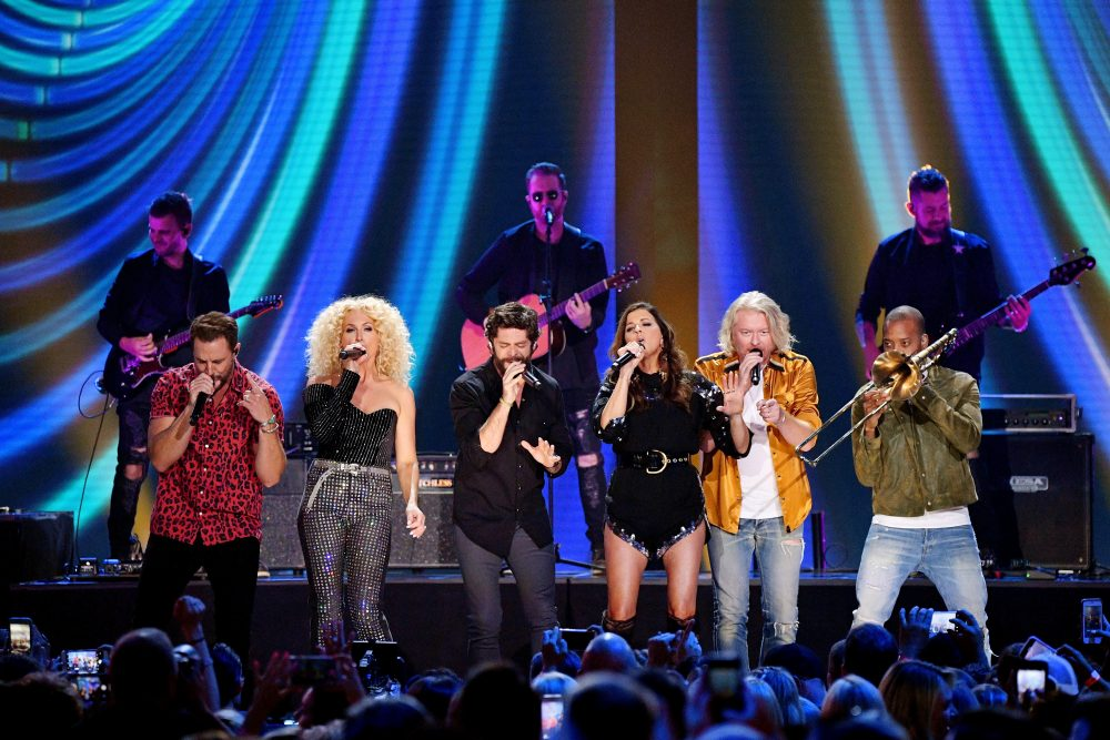 Thomas Rhett + Little Big Town Energize 2019 CMT Awards With 'Don't Threaten Me With a Good Time'