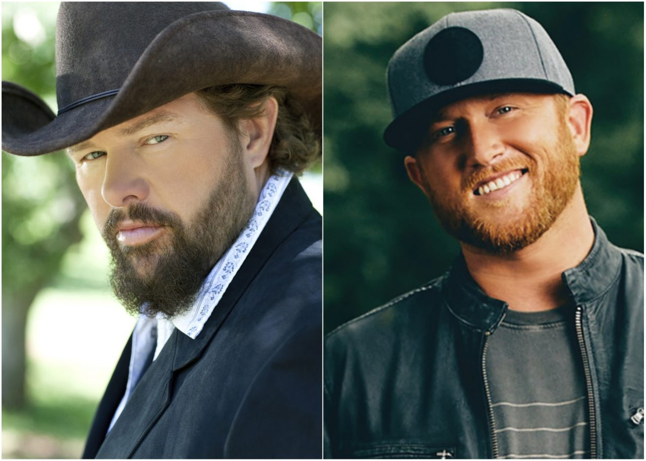 Toby Keith and Cole Swindell Teaming Up for 2019 CMT Music Awards