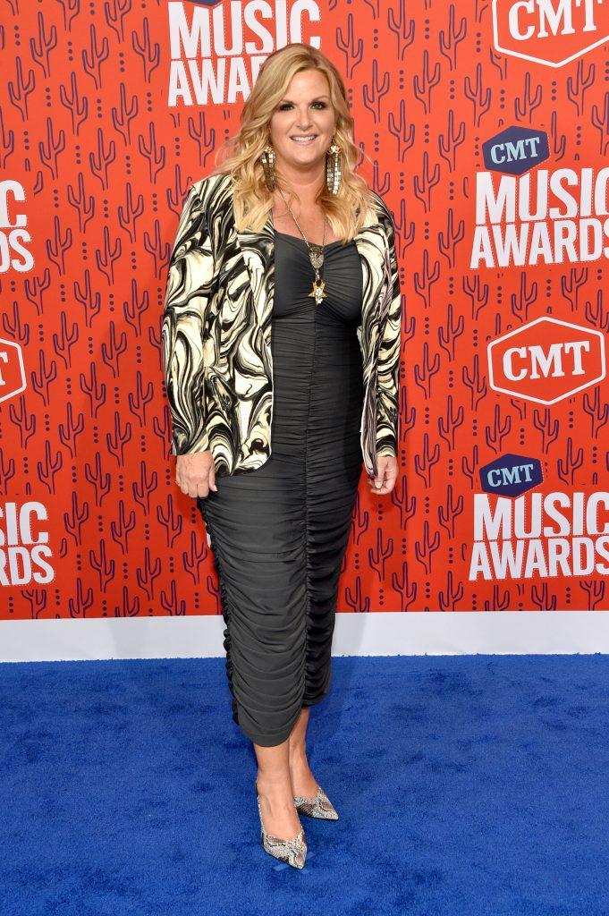 NASHVILLE, TENNESSEE - JUNE 05: Trisha Yearwood attends the 2019 CMT Music Awards at Bridgestone Arena on June 05, 2019 in Nashville, Tennessee. (Photo by John Shearer/WireImage,)