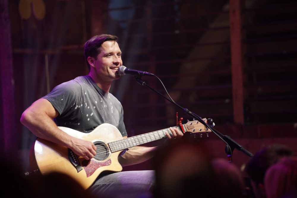 Walker Hayes Likes To Keep Things Simple On Father's Day