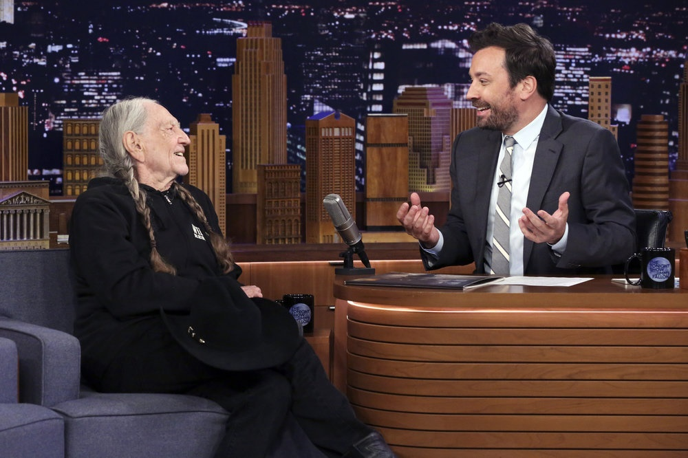 Willie Nelson Talks Weed, Horses and His New Album on 'Fallon'