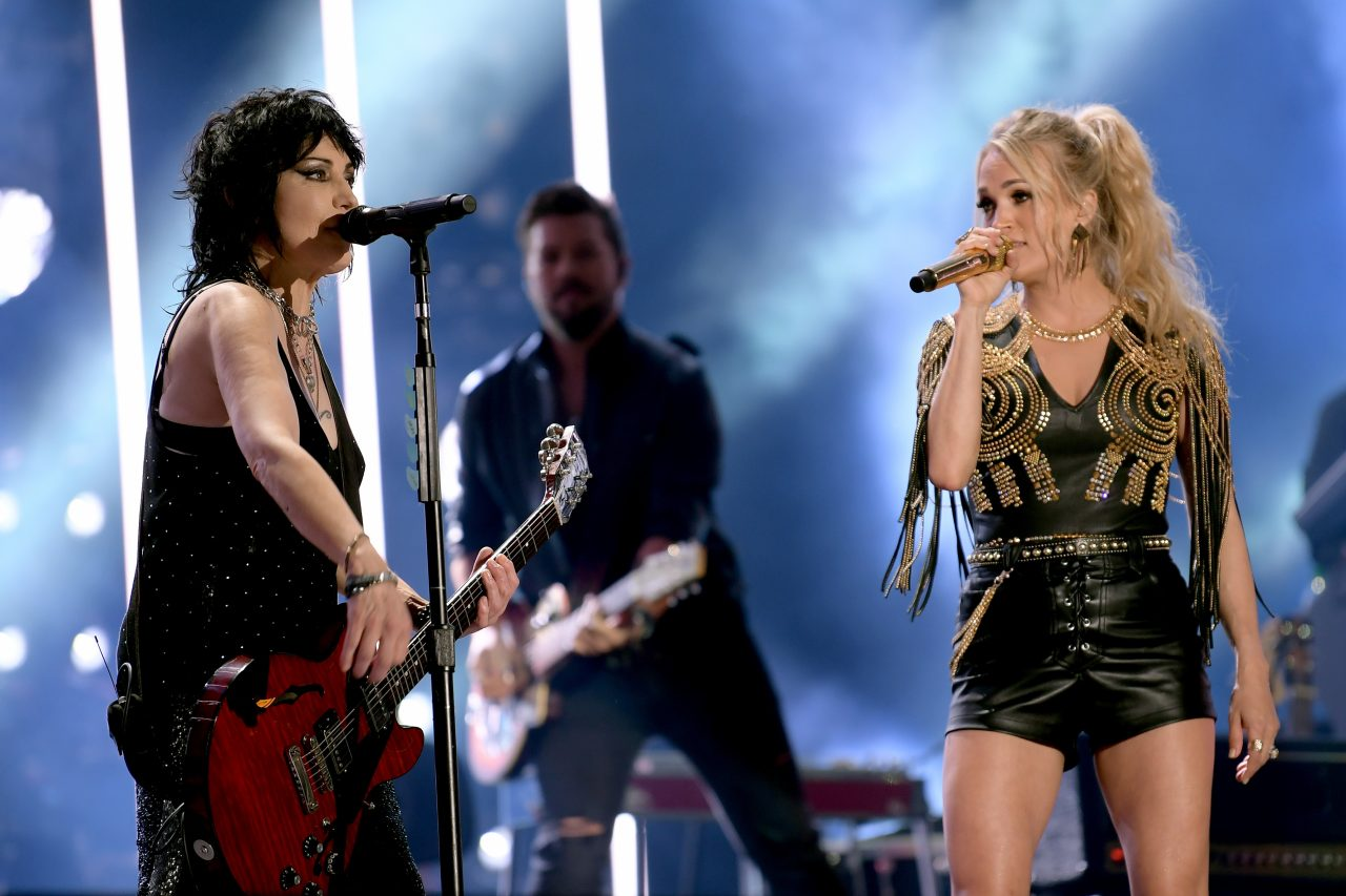 Carrie Underwood Shares Moments Leading Up To CMA Fest Performance with Joan Jett