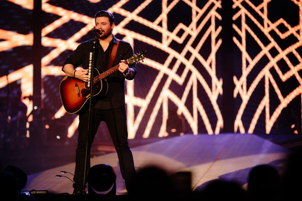 Chris Young and Lauren Alaina Duet on 'Town Ain't Big Enough'