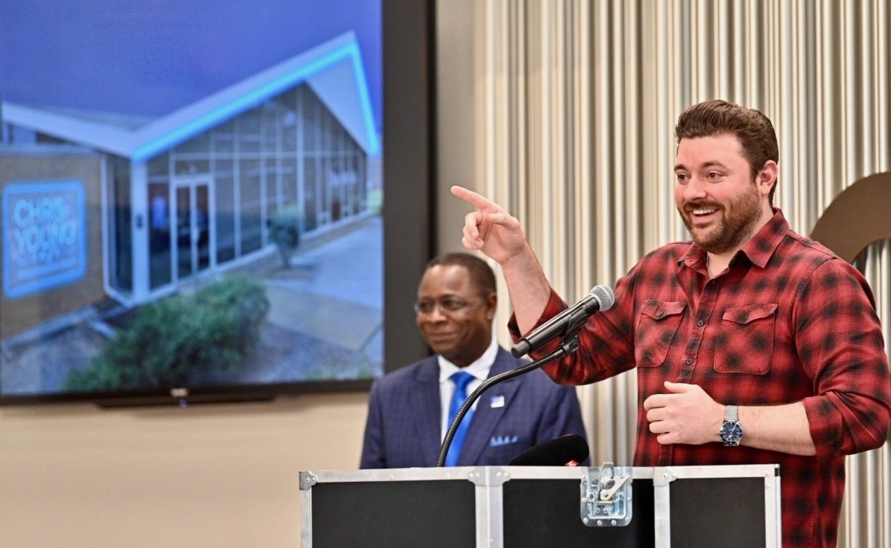 Middle Tennessee State University Unveils 'Chris Young Café'