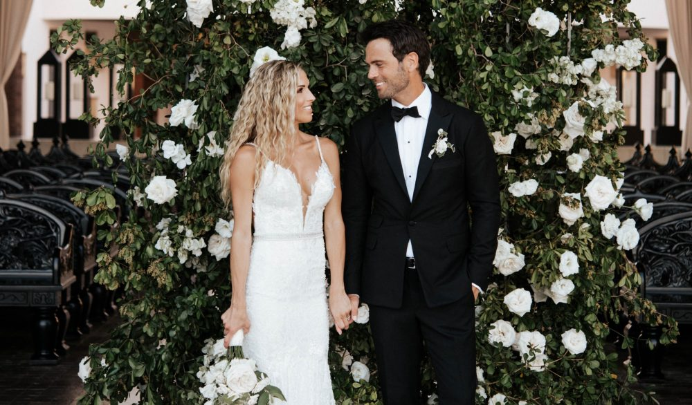 Chuck Wicks Shares A First Look at His Glamorous Wedding to Kasi Williams