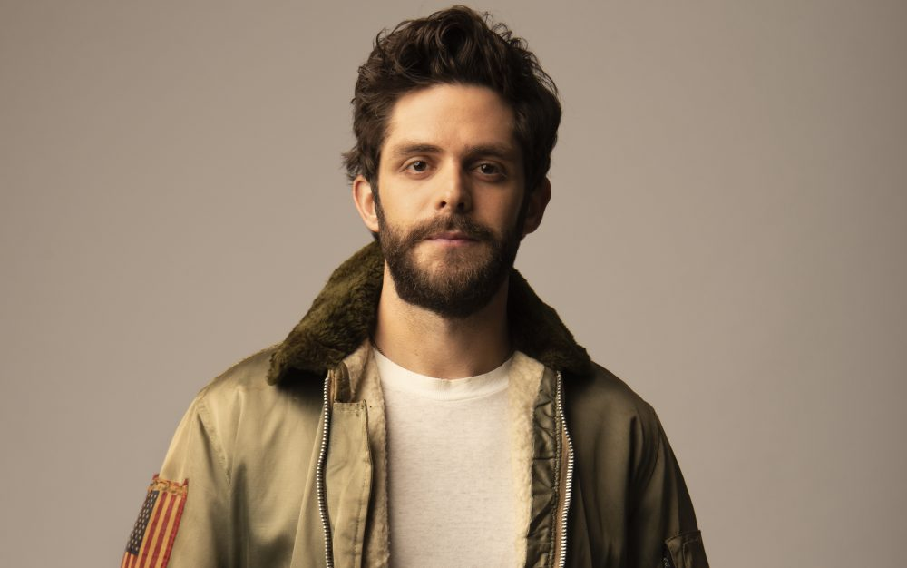 Thomas Rhett Shaves His Beard For The First Time In Five Years