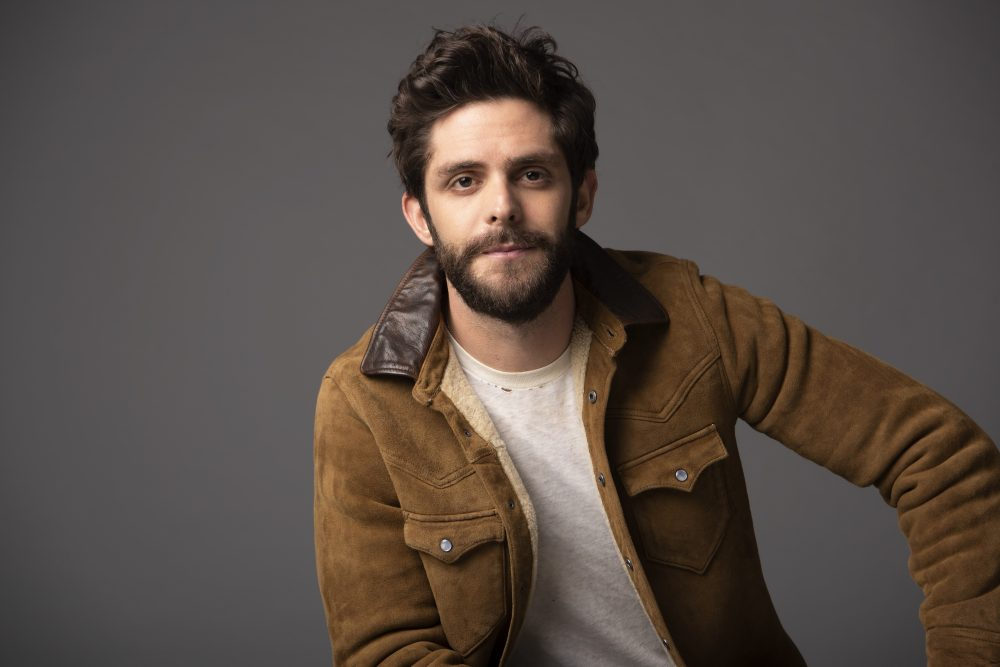 Thomas Rhett Offers a Warning 'To the Guys That Date My Girls'