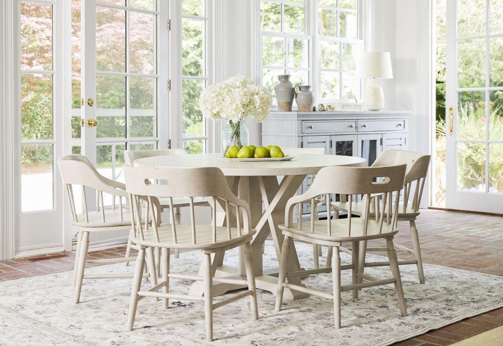 Trisha Yearwood Home Feast Dining Table; Photo credit: Nicole Gerulat