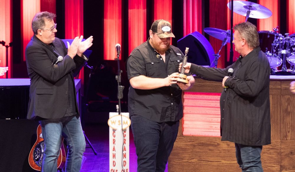Luke Combs Officially Joins Grand Ole Opry Family