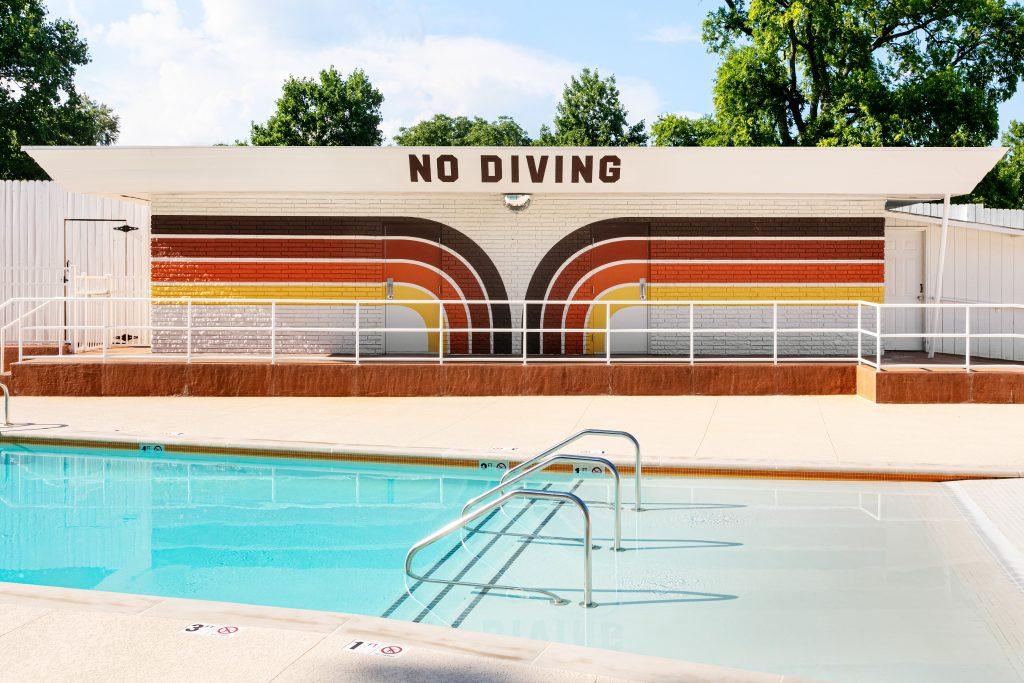 Dive Motel Pool; Photo credit: Ben Fitchett