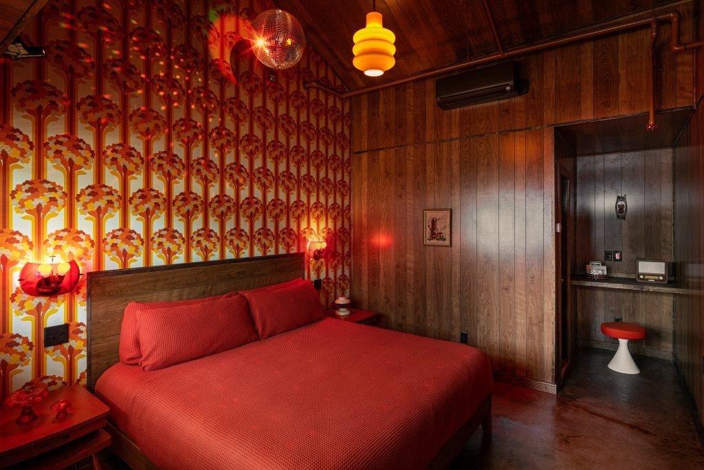 Dive Motel Mushroom Room; Photo credit: Ben Fitchett