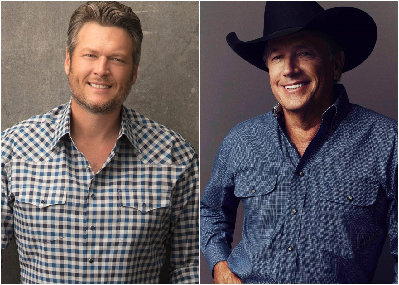Blake Shelton on Opening For George Strait: 'I'm Just Happy to be Doing It'