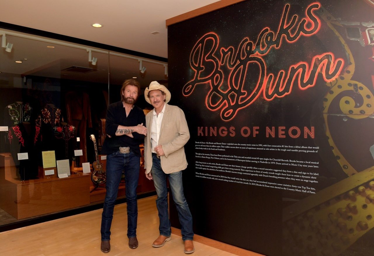 Brooks & Dunn: Kings of Neon Exhibit Opens at Country Music Hall of Fame® and Museum
