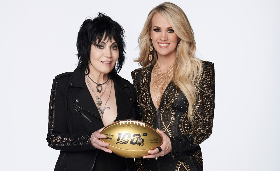 Carrie Underwood and Joan Jett Team Up For 2019 Sunday Night Football Opener