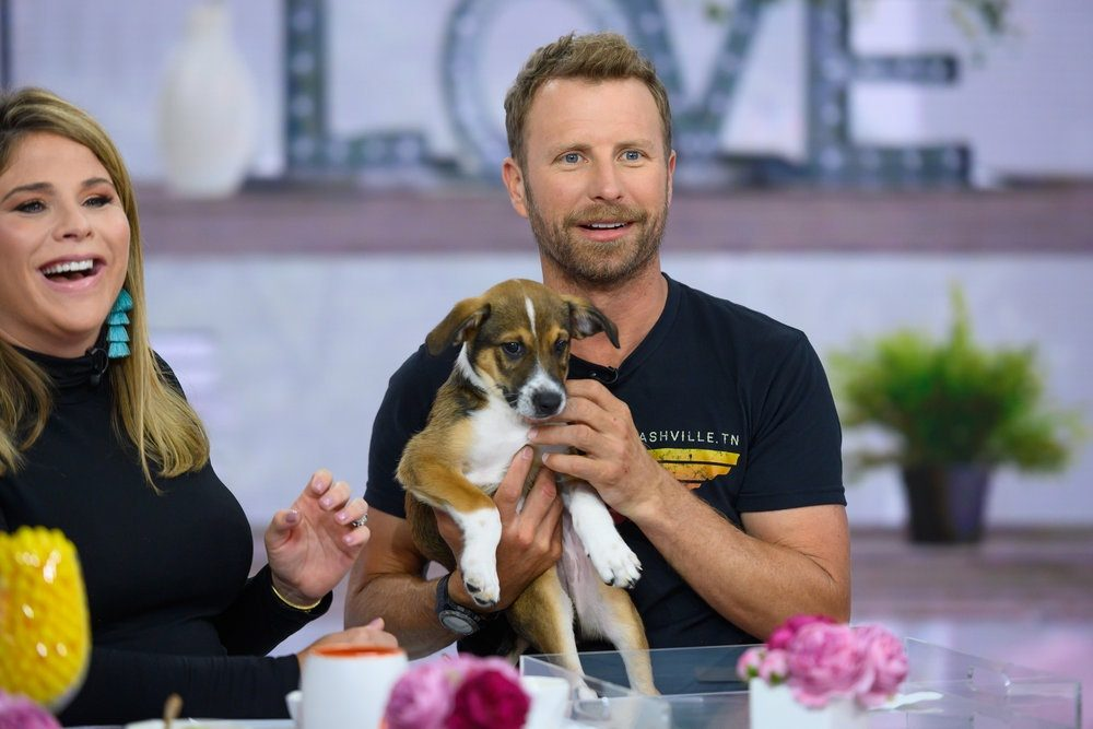 Dierks Bentley Adopts Puppy While Live on TODAY Show