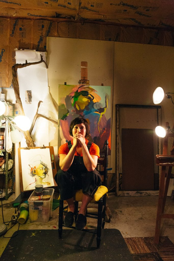 Julia Martin of the Julia Martin Gallery; Photo credit: Heidi Ross