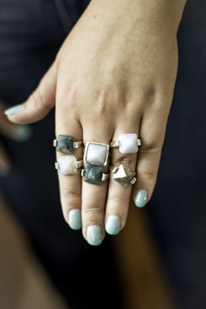 Maneet Curated Rings; Photo credit: Emily Ford Daughterty