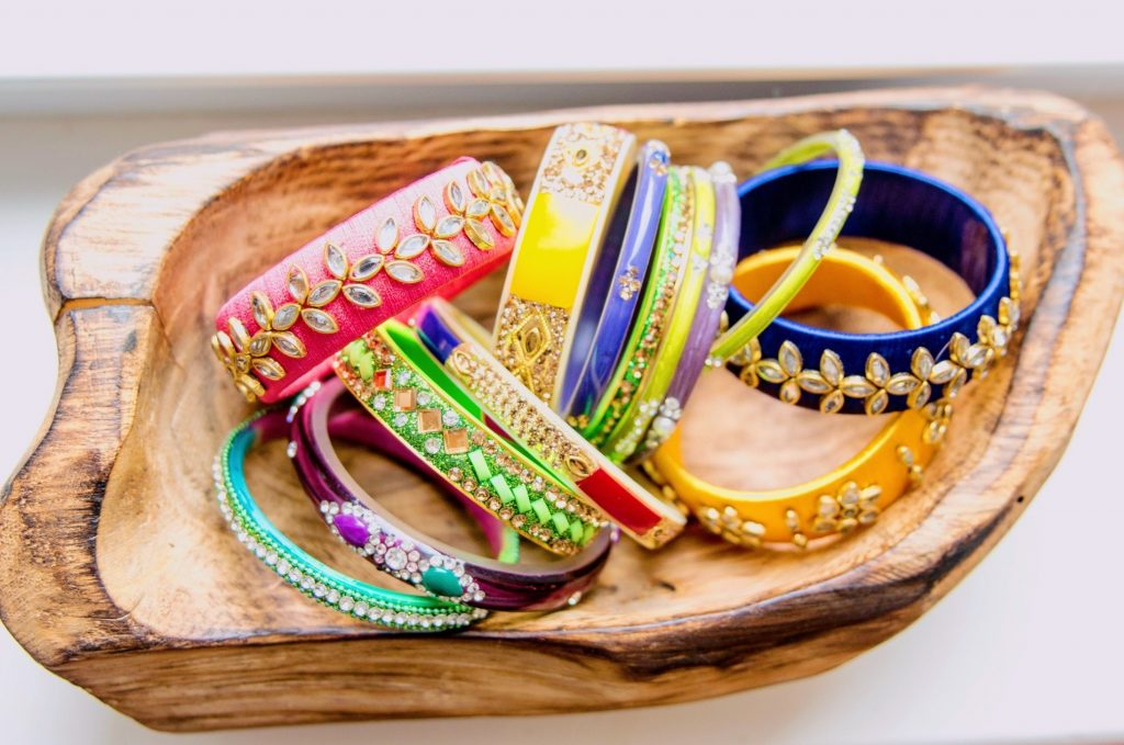 Maneet Curated Bangles; Photo credit: Emily Ford Daughterty