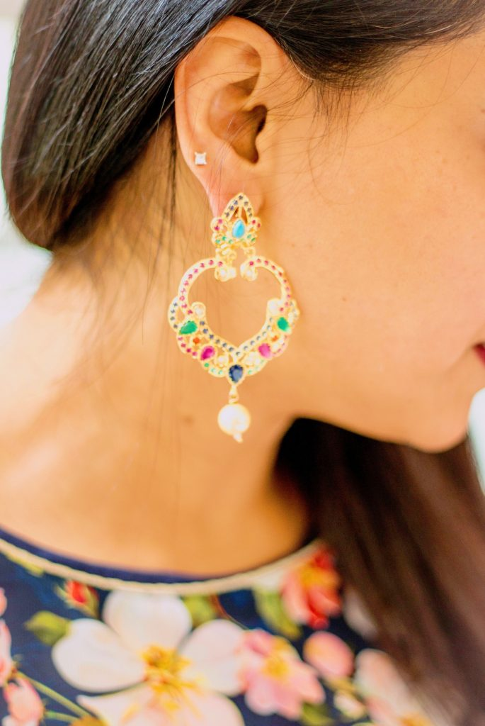 Maneet Curated Earring; Photo credit: Emily Ford Daughterty