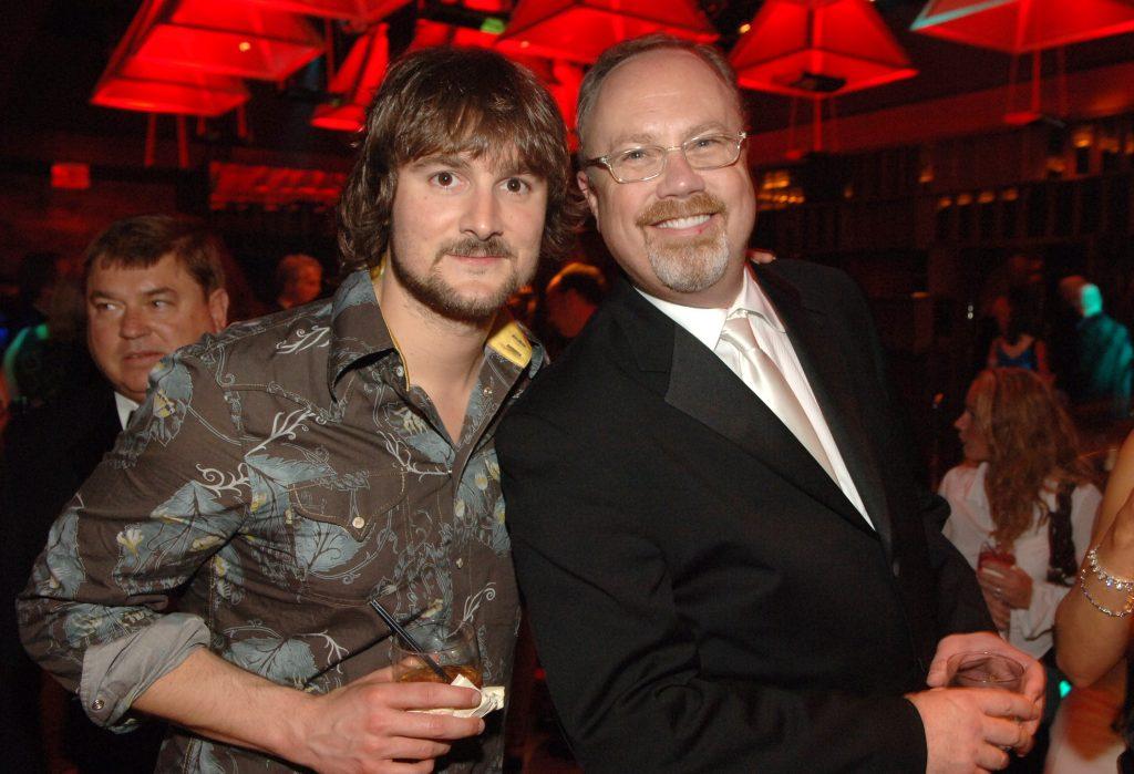 Mike Dungan with Eric Church; Photo courtesy of UMG Nashville