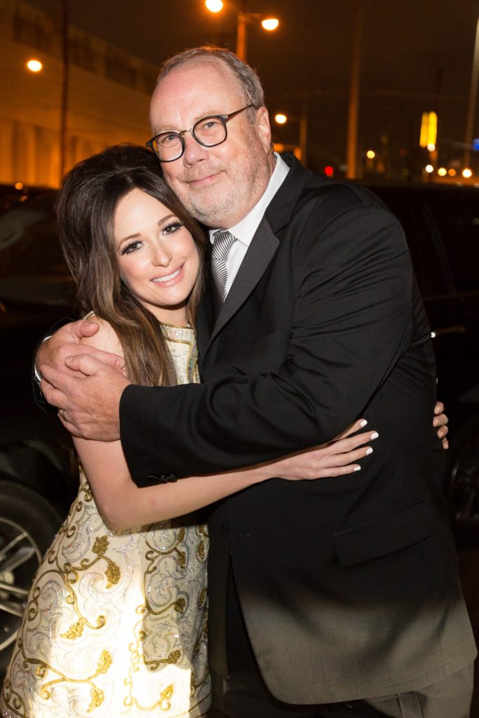 Mike Dungan with Kacey Musgraves; Photo courtesy of UMG Nashville