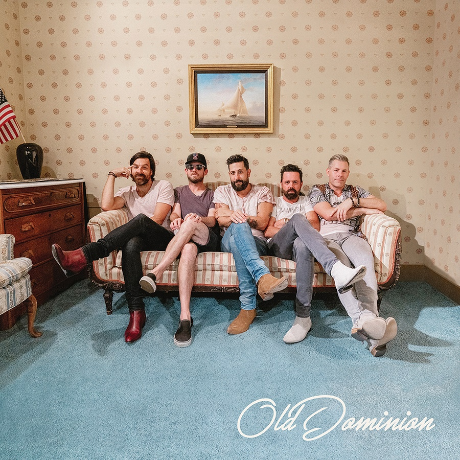 Old Dominion (Geoff Sprung, Whit Sellers, Matthew Ramsey, Brad Tursi, Trevor Rosen); Photo Credit Mason Allen