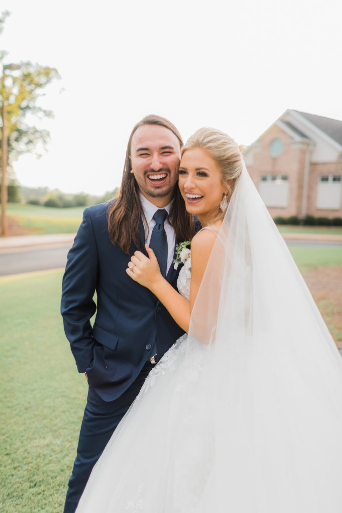 Rachel Wammack and her husband, Noah Purcell; Photo Credit: @BrasspennyPhotography