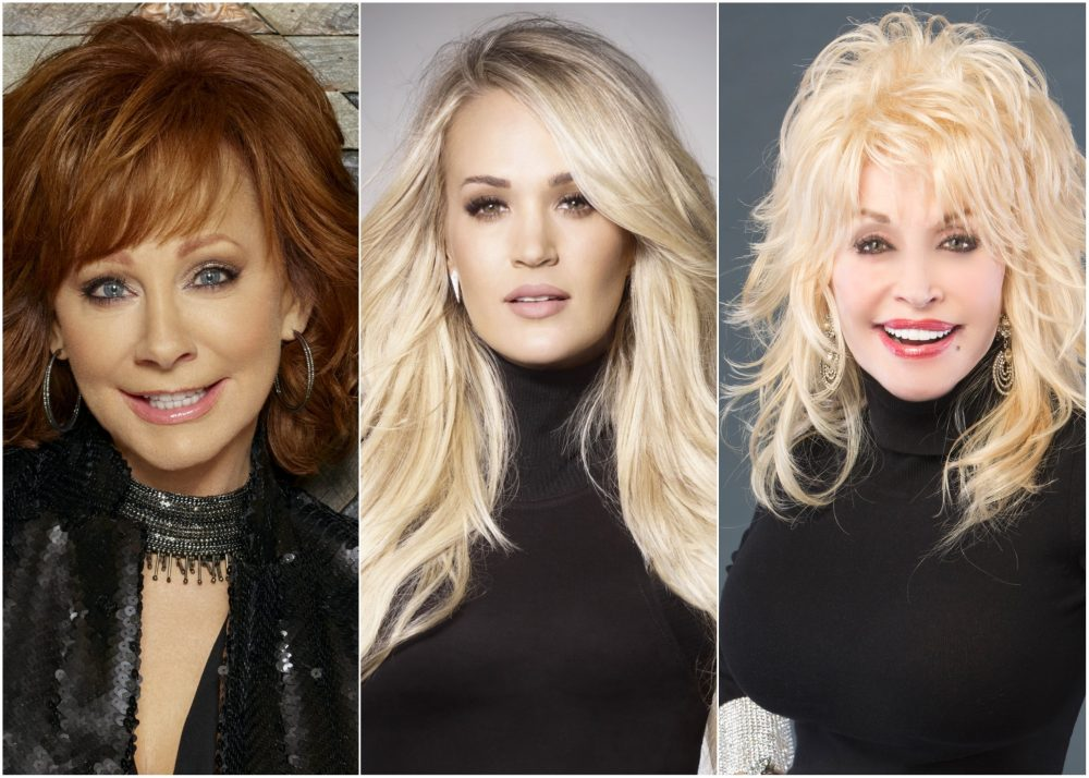 Carrie Underwood to Host CMA Awards With Reba McEntire and Dolly Parton