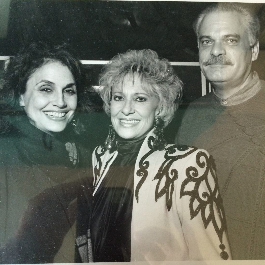 Susan Nadler with Tammy Wynette; Photo courtesy of Shady Ladies of Music City