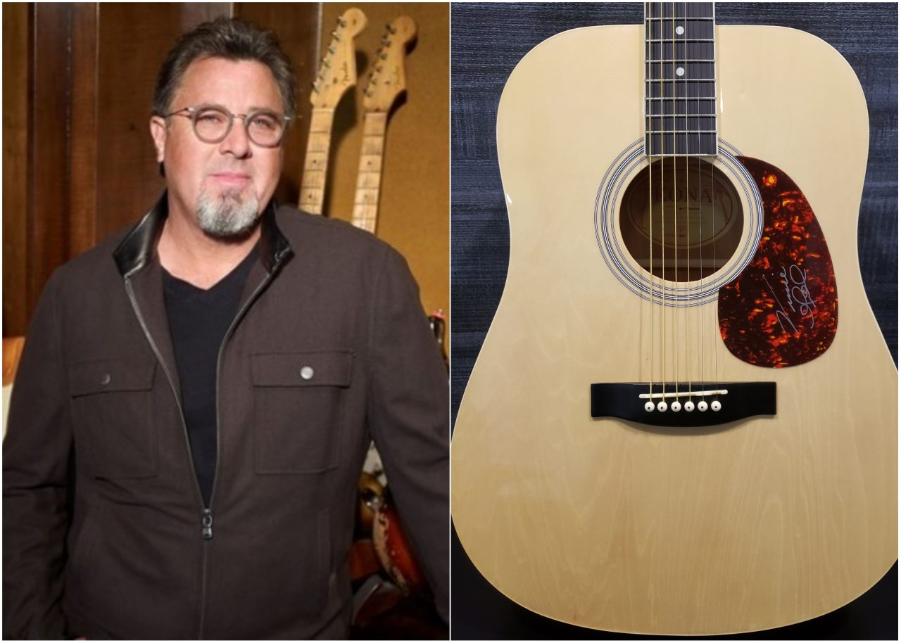Enter For A Chance to Win a Signed Vince Gill Guitar