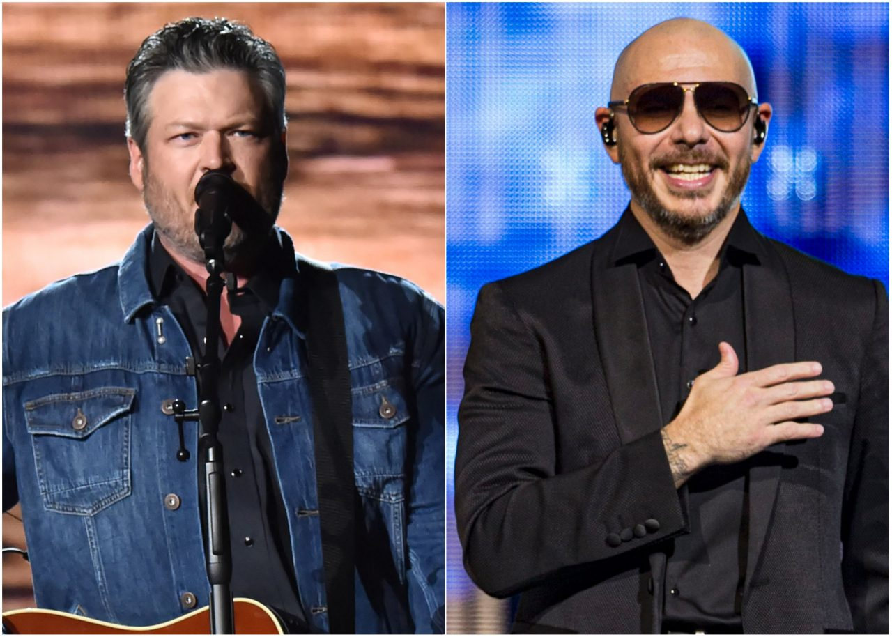 Blake Shelton and Pitbull Team Up for 'Get Ready' Dance Anthem