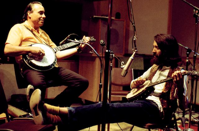 Earl Scruggs and John McEuen; Photo Credit: William E. McEuen