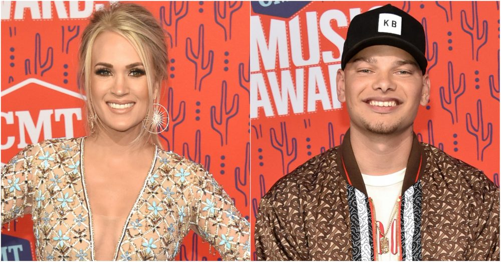 Carrie Underwood, Kane Brown Among 2019 CMT Artists of the Year