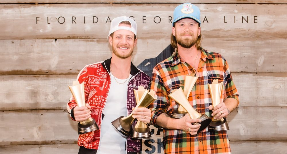 Florida Georgia Line Honored With Three 'ACM Decade' Awards