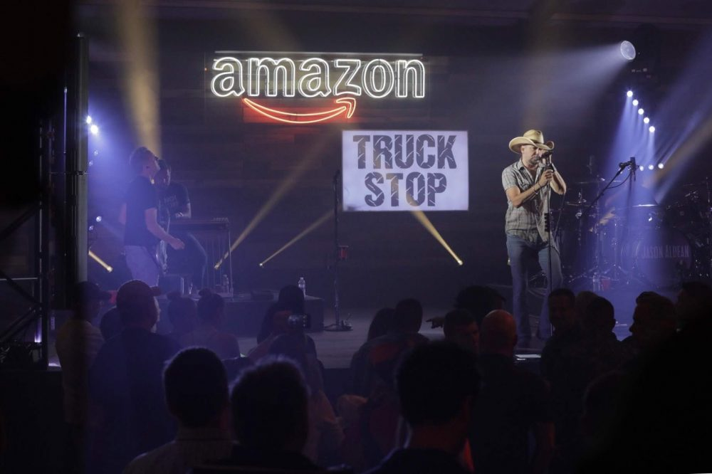 Jason Aldean Headlines Nashville's Amazon Truck Stop