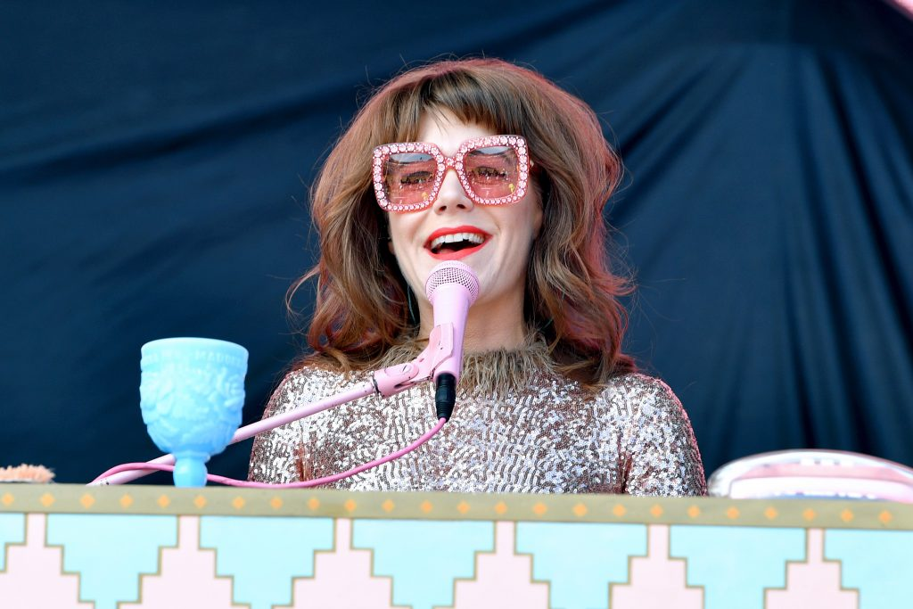FRANKLIN, TENNESSEE - SEPTEMBER 22: Jenny Lewis performs onstage during day 2 of the 2019 Pilgrimage Music & Cultural Festival on September 22, 2019 in Franklin, Tennessee. (Photo by Erika Goldring/Getty Images for Pilgrimage Music & Cultural Festival)
