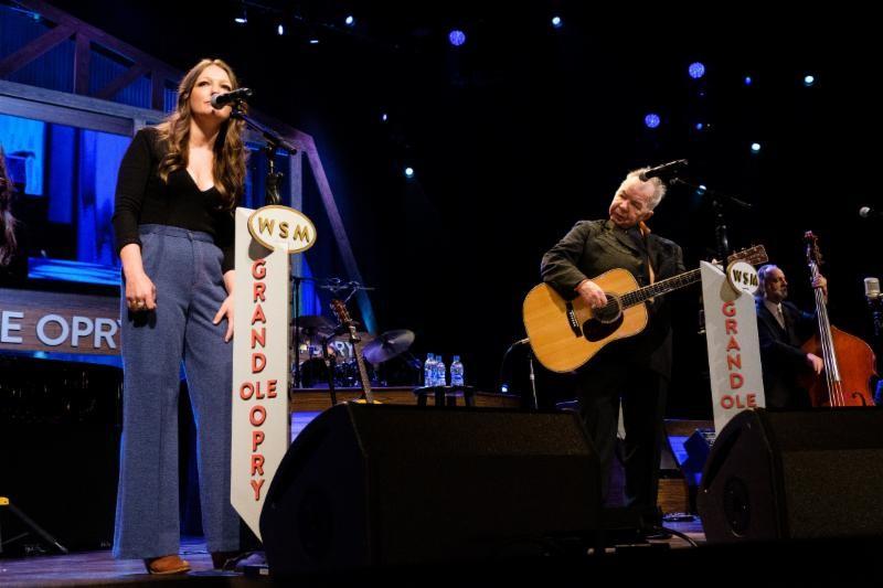Kelsey Waldon and John Prine; Photo credit: Laura E. Partain