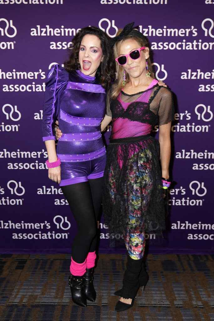NASHVILLE, TENNESSEE - SEPTEMBER 29: Kimberly Williams-Paisley and Sheryl Crow attend Nashville's 80's dance party to end ALZ benefitting the Alzheimer's Association on September 29, 2019 in Nashville, Tennessee. (Photo by Ed Rode/Getty Images for Alzheimer's Association)