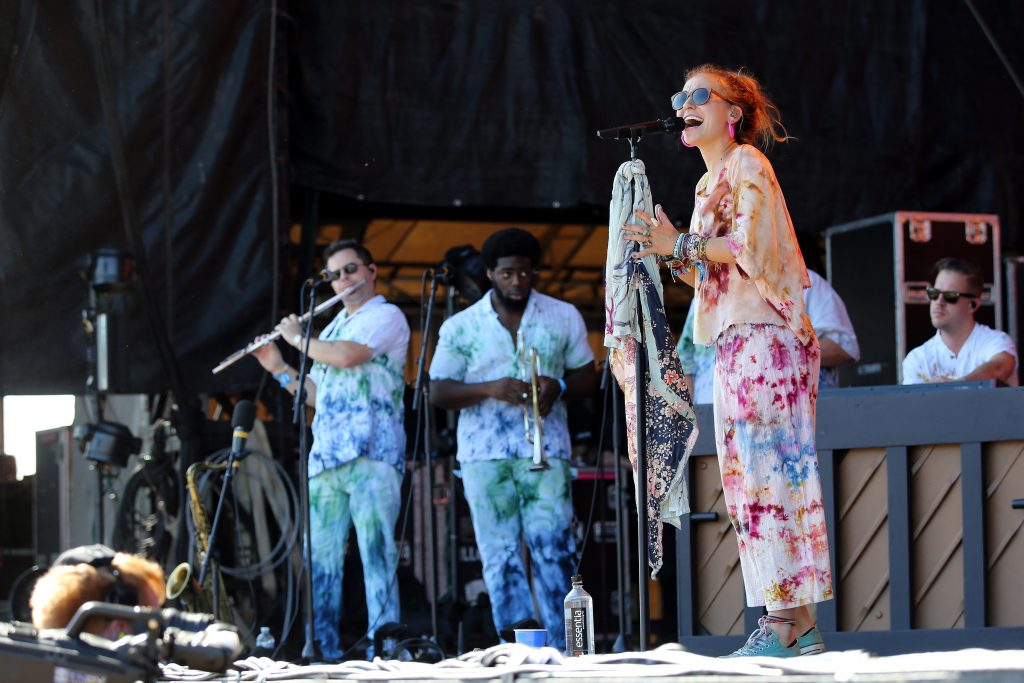 FRANKLIN, TENNESSEE - SEPTEMBER 21: Lauren Daigle performs onstage during day 1 of the 2019 Pilgrimage Music & Cultural Festival on September 21, 2019 in Franklin, Tennessee. (Photo by Terry Wyatt/Getty Images for Pilgrimage Music & Cultural Festival)