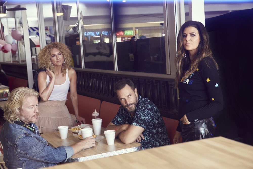 Little Big Town Goes Hollywood for 'Over Drinking' Video