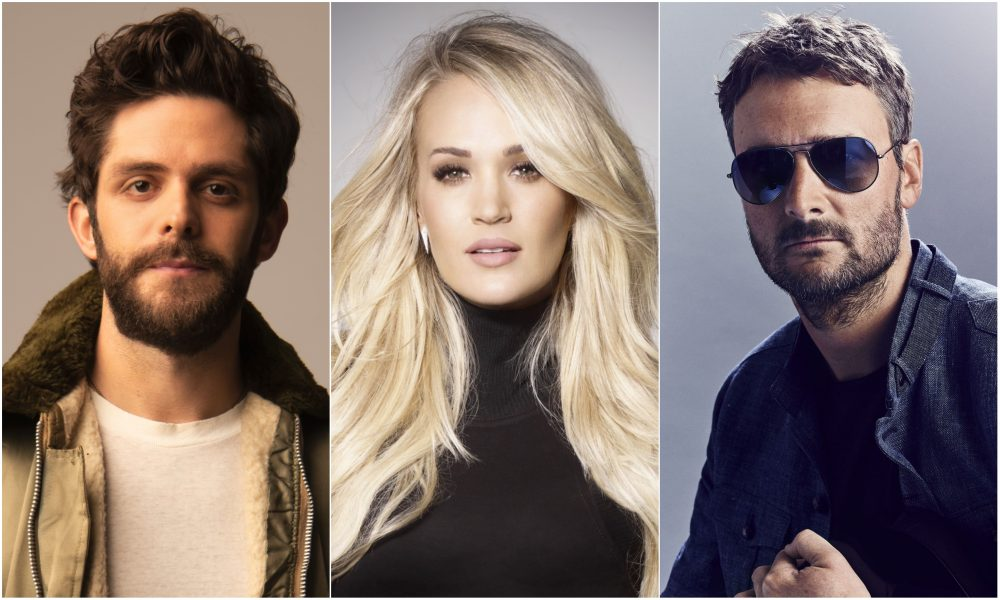 Thomas Rhett, Carrie Underwood, Eric Church to Headline 2020 Stagecoach Festival
