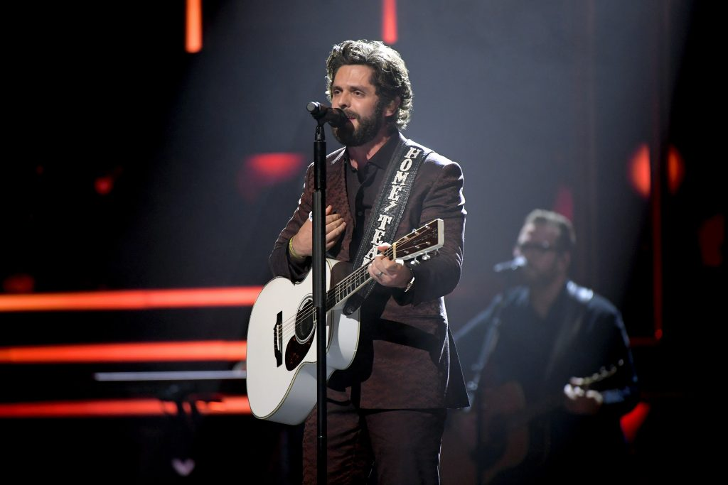 Thomas Rhett performs onstage during the 2019 CMT Artist of the Year (Photo by Jason Kempin/Getty Images for CMT/Viacom)